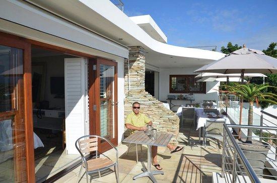 Aquavit Guest House: terasse chambre 4