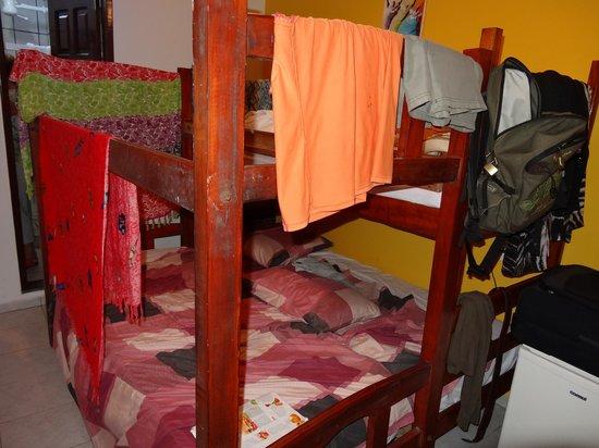 Pousada Farol das Estrelas:                                     les lits