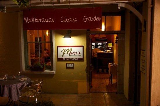 Marc's Mediterrean Cuisine & Garden