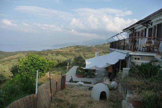 Afetes, Grekland:                                     Vue de la maison