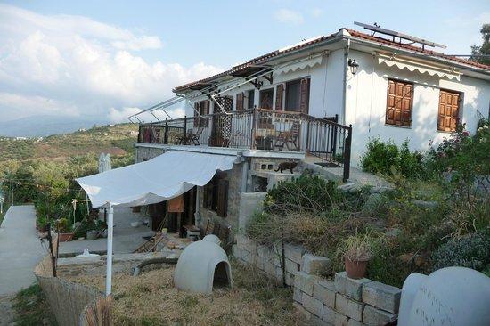 Afetes, Grecia:                                     Vue de la maison