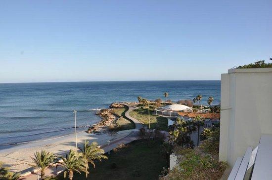 Hipotels Mediterraneo: Zimmeraussicht im Jänner