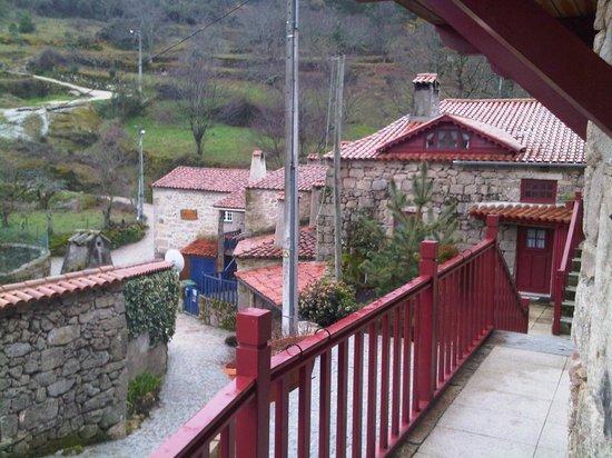Casas da Ribeira:                   The view from room door...