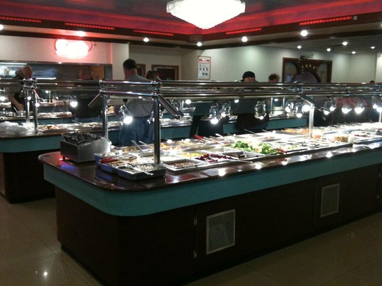 ‪‪Mongolian Buffet‬:                   The Buffet is always clean and well lit