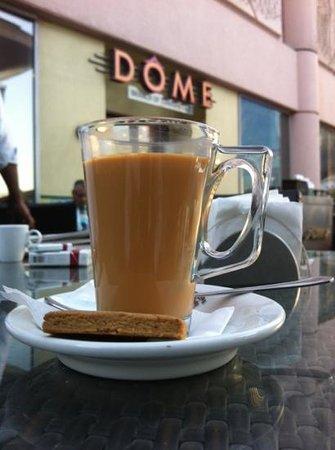 Dome:                   karak chai