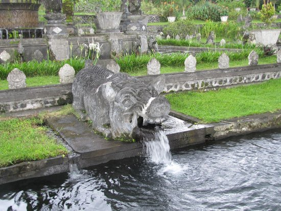 Tirta Gangga:                   water