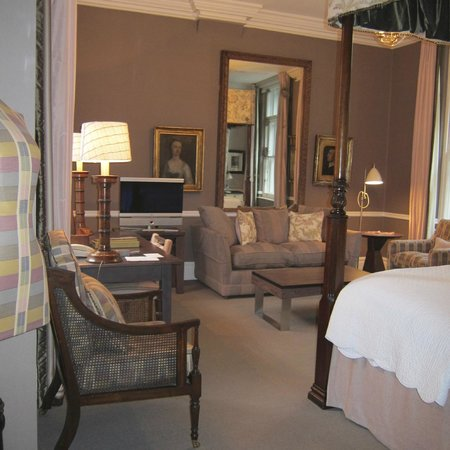 Covent Garden Hotel:                                     Our room