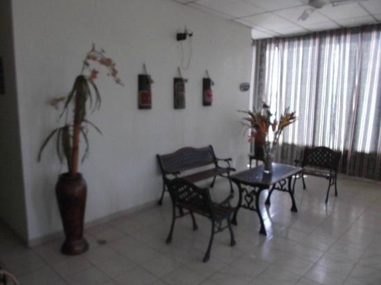 Sarita Hotel: Aire de repos du deuxième étage au 5 février 2013.