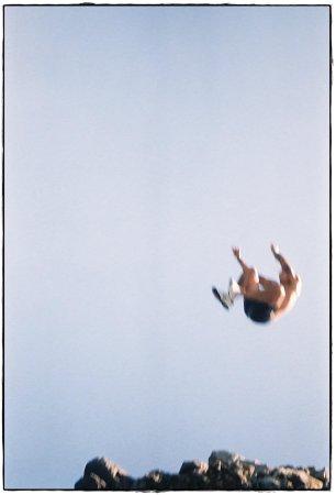 Haraki, Grækenland:                                     cliff jumping