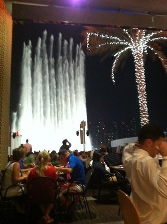 Dome:                   fountain view from carluccio
