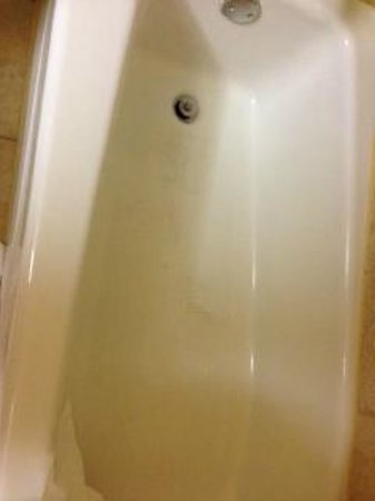 Holiday Inn Houston Intercontinental Airport: Nasty bath tub