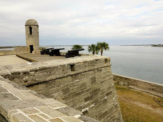 Bastion at Castillo de San Marcos