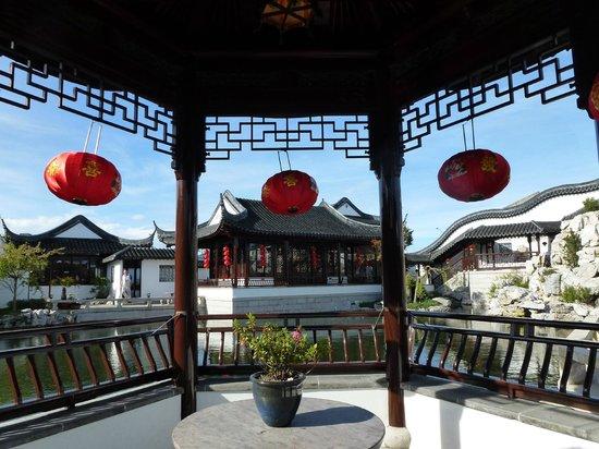 Dunedin Chinese Garden:                   Serenity