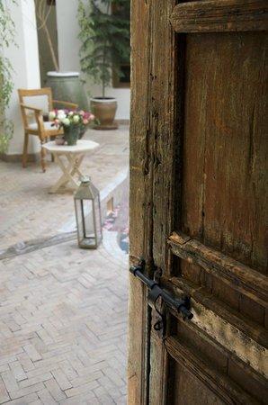 Riad le coq berbere:                   All'ingresso
