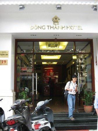 Icon 36 Hotel:                                     Hotel entrance