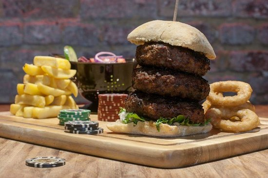 Black Market: The Don- check our range of gangster burgers!