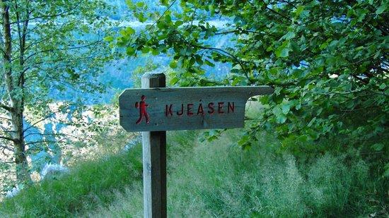 Eidfjord Municipality, Norway: Path to Kjeåsen by Anthony Robinson