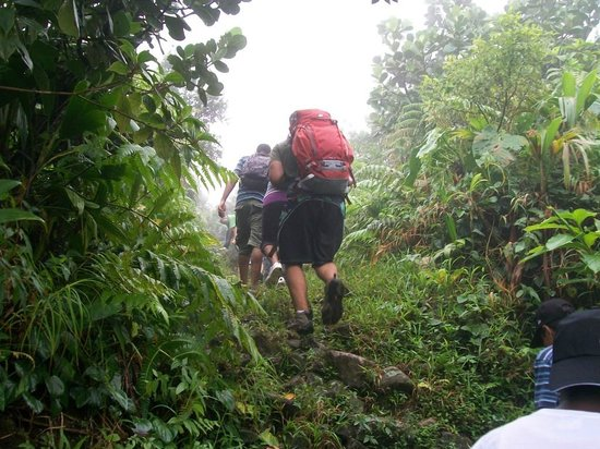 Serenity Lodges Dominica: Hiking at Boirie Lake