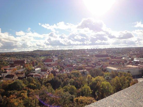 Europa Royale Vilnius: city view