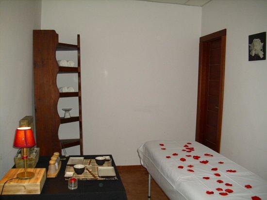 Hotel Rural Vado del Duratón: Sala de masajes de @VadodelDuraton