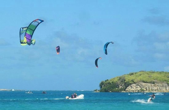 ‪‪40Knots Kitesurfing & Windsurfing School Antigua‬:                   The beautiful Green Island location