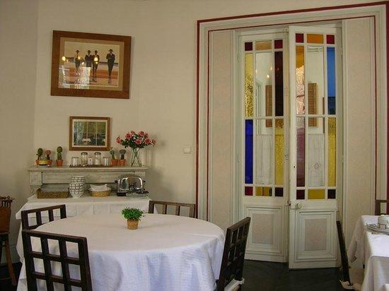 maison garnier biarritz salle à manger