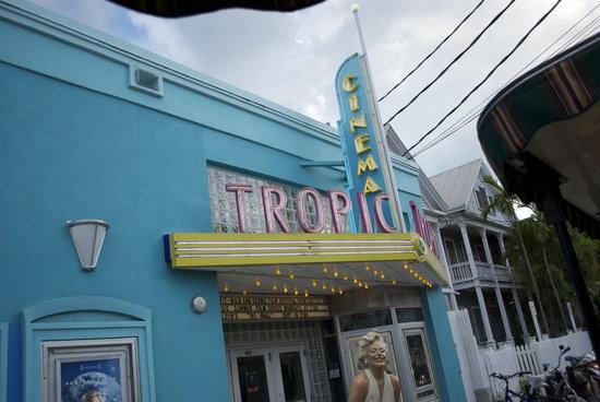 Tropic Cinema :                   outside view