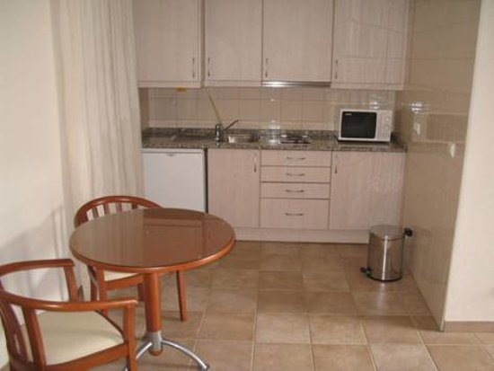 Villa Pitta: kitchenette