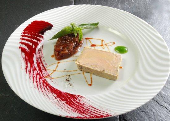 Restaurant Saint-Roch : Foie gras maison au pineau des Charentes