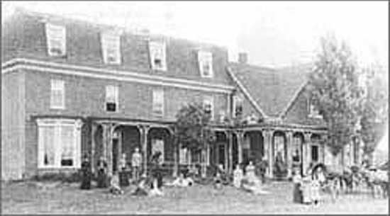 Shaw's Hotel and Cottages: Early visitors to Shaw's Hotel, 150 years ago.