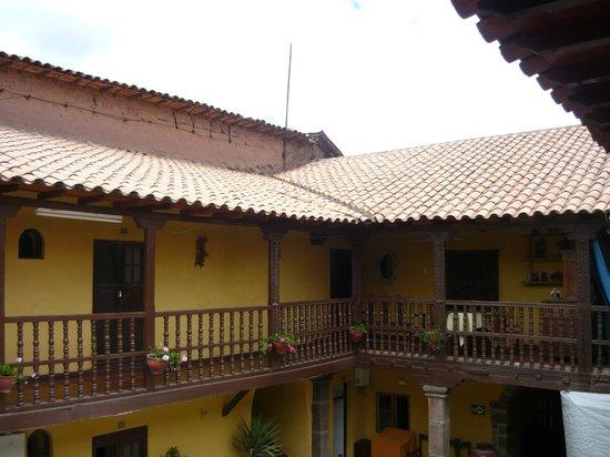 Hostal Quipu Cusco: balcon