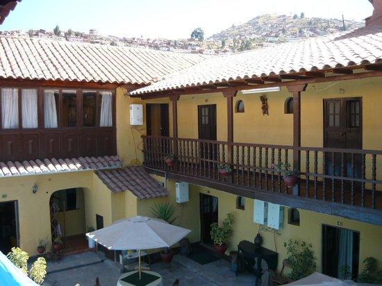 Hostal Quipu Cusco: Techo remodelado