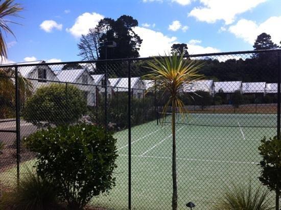 وورلد مارك ماراما ريزورت روتوروا: tennis court