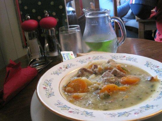 The Garden Cafe:                   Irish Lamb Stew