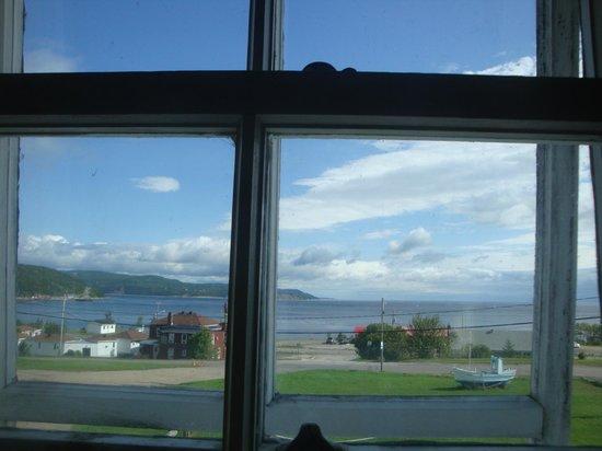 Cafe Chez Sam :                   vue de la chambre