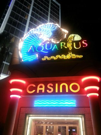 Aquarius Casino Resort: River Walk Entrance
