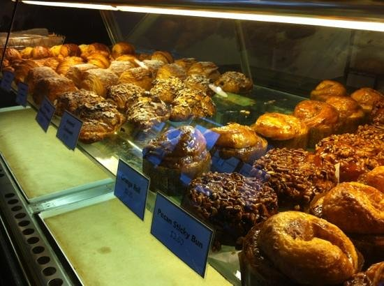 B.K. Bakery:                   baked breakfast goodies at BK!