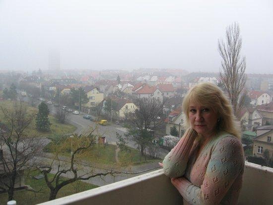 Fortuna Rhea:                   Вид с балкона отеля