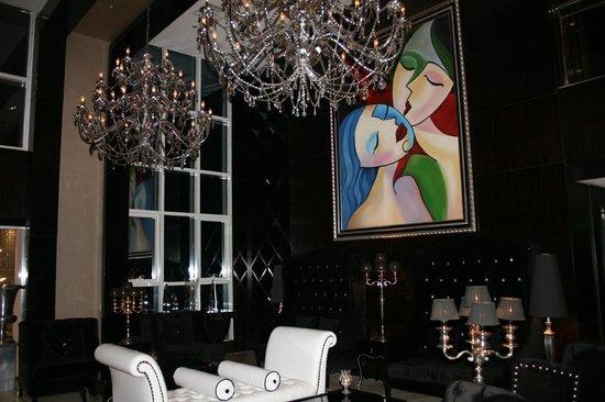 The Gabriel Hotel:                   Lobby