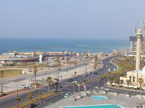 دان بانوراما تل أبيب:                   view from the room                 