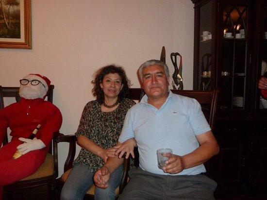 Santa Cecilia:                   Maria & Oswaldo (the owners)