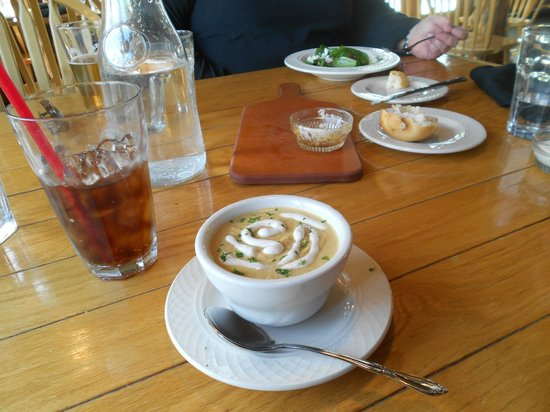 The Perch Restaurant and Bar: delicious soup