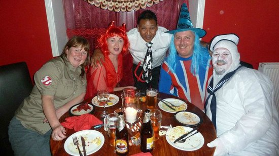 Hot Chilli Indian Restaurant:                   Halloween Night 2012