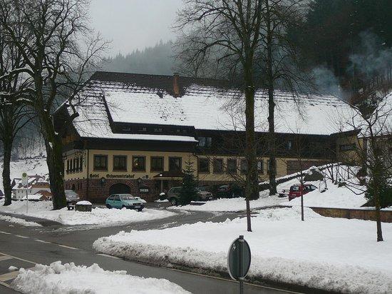Hotel Restaurant Ochsenwirtshof : Ochsenwirtshof in the snow