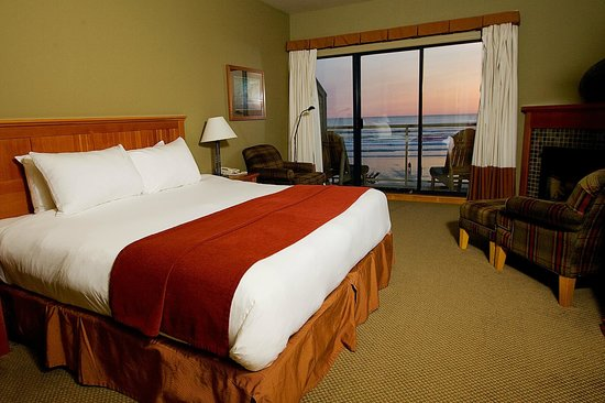 Long Beach Lodge Resort: Deluxe Beachfront Room