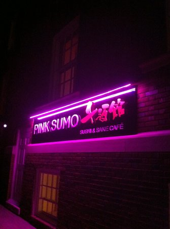 Photo of Japanese Restaurant Pink Sumo Sushi & Sake Cafe at 4 Church Ln, Westport, CT 06880, United States