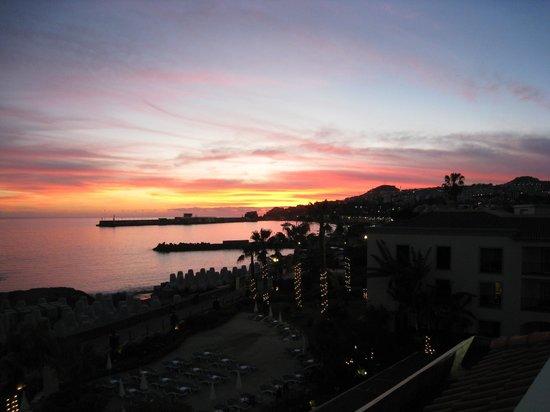 Porto Santa Maria Hotel:                   Sunset