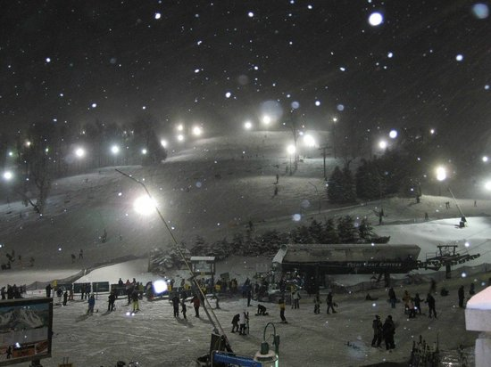 Seven Springs Mountain Resort: First Day Snow Conditions