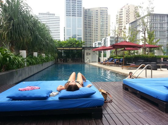Rooftop Pool Amp Bar Picture Of Park Plaza Bangkok Soi 18