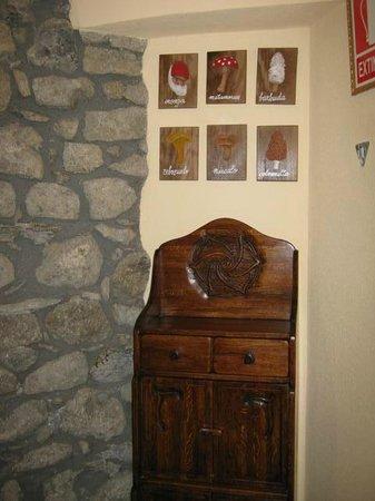 Casa La Abadia: Rincon escalera